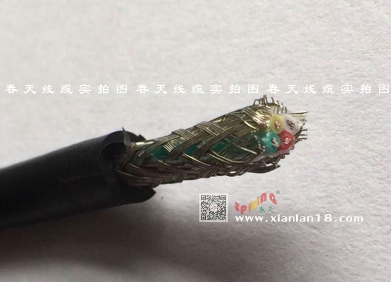 彈性擠壓RVVP銅鍍錫屏蔽控制電纜(系列)