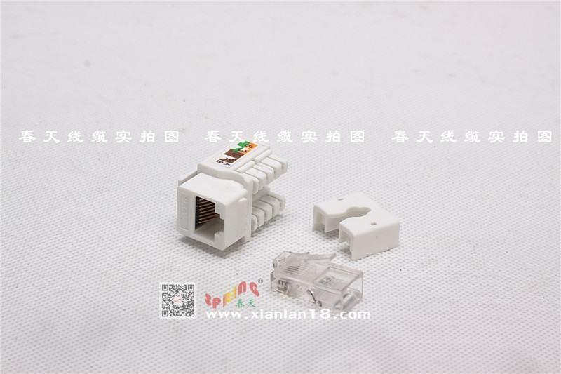 5类模块和水晶头